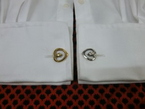 double heart cufflinks-4
