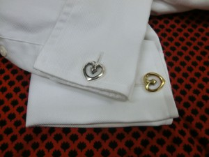 double heart cufflinks-5