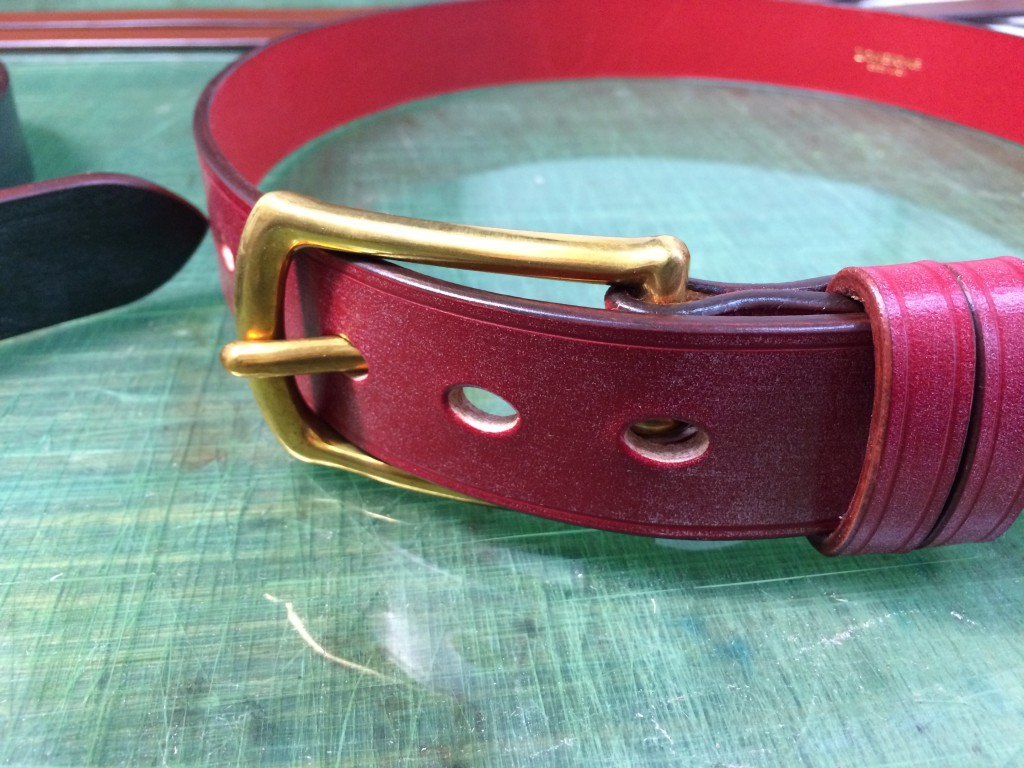 bridleleather belt3