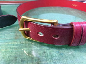 bridleleather belt3