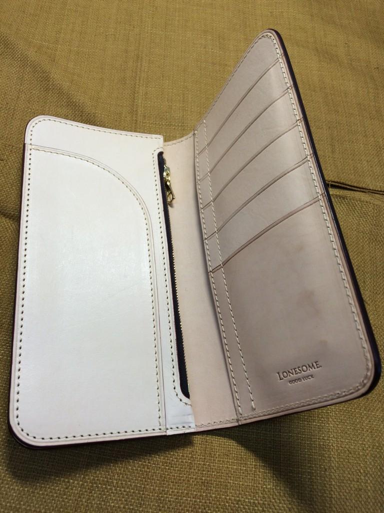 bridle long wallet 3