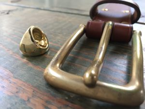 真鍮のエイジング