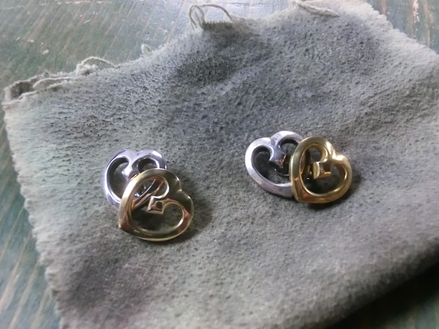 DOUBLE HEART CUFFLINKS1
