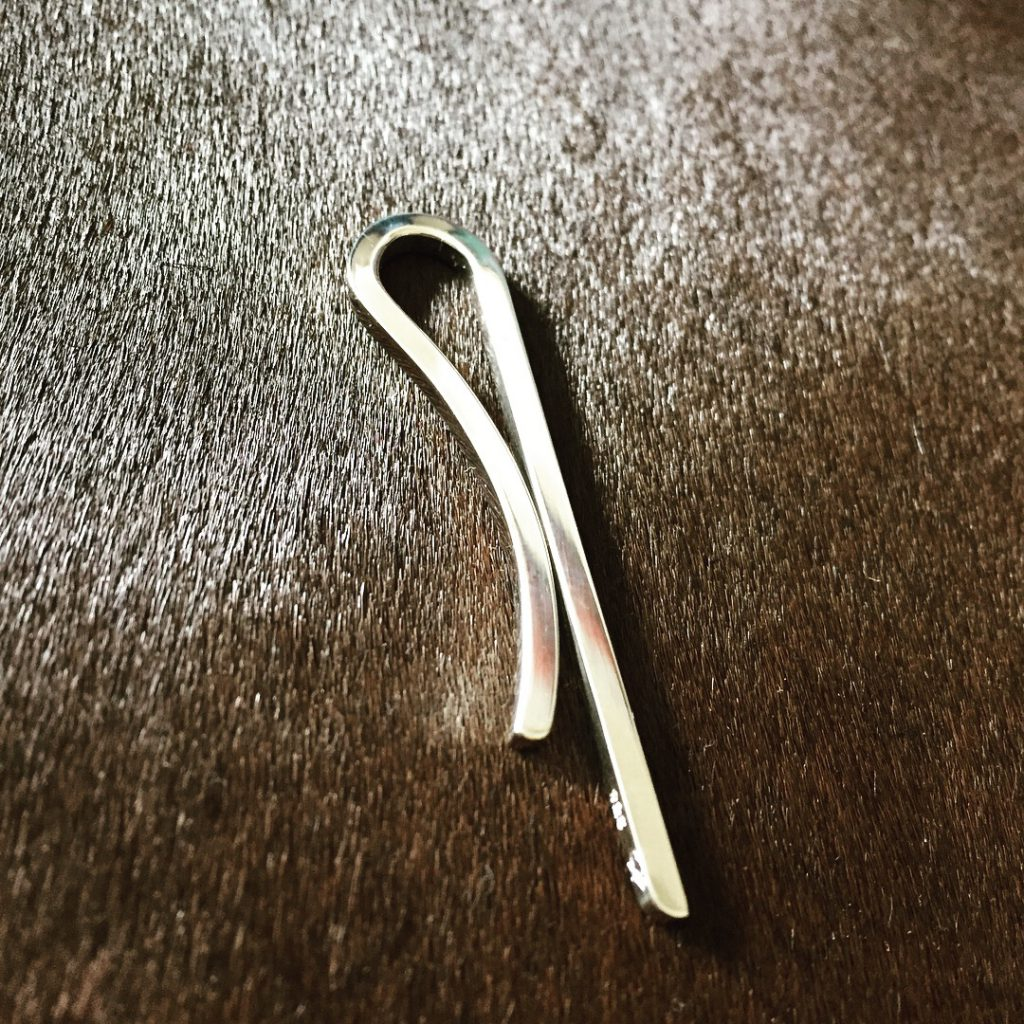 silver reversible tie pin 4