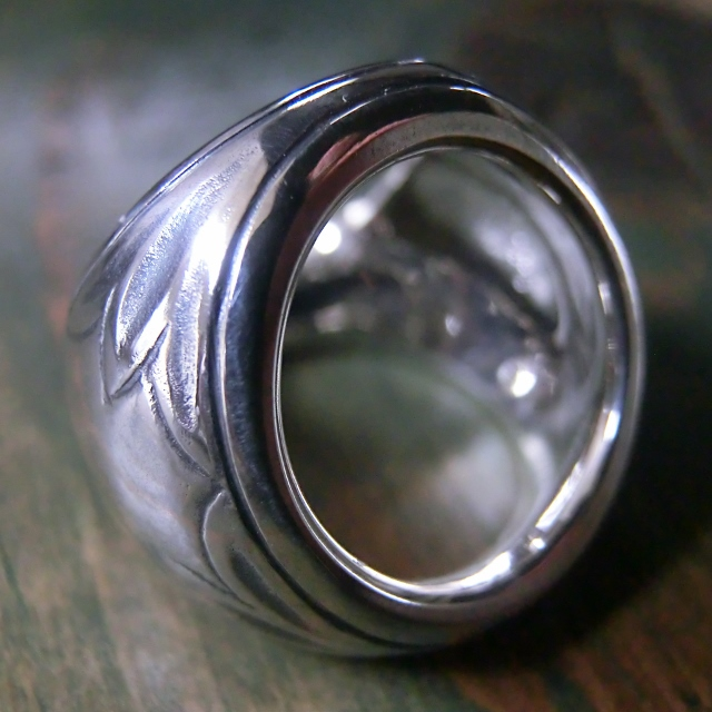 ivy scarf ring silver3