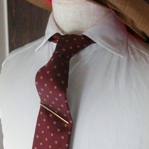 narrow tie slide