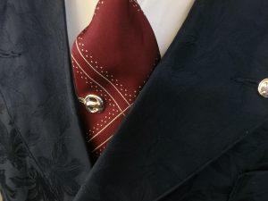 r.s tie clip silver925