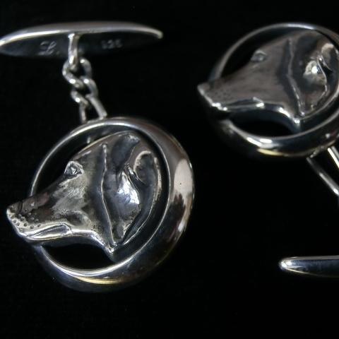 dog cufflinks 2