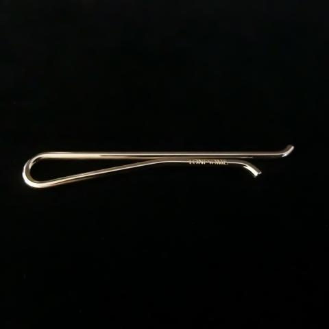 narrow tie slide -round bar-5